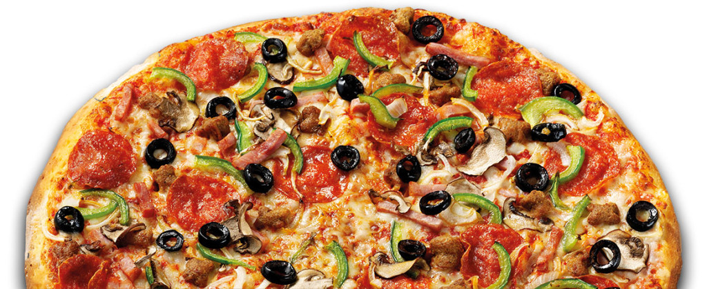 Image of Papa John's The Works Overhead Pizza